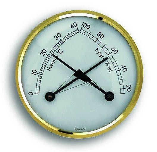 Thermometer / Hygrometer Ø7cm