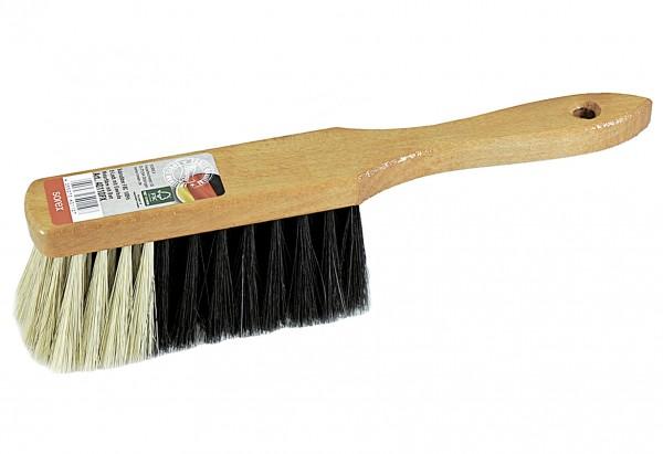 Handfeger Holz/Kunstborste helllackiert 28cm