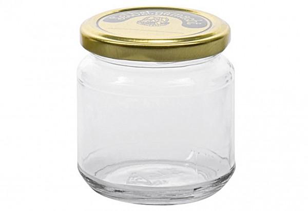 Schraubdeckelglas mit 66mm TO-Deckel selbstgemacht 220 ml