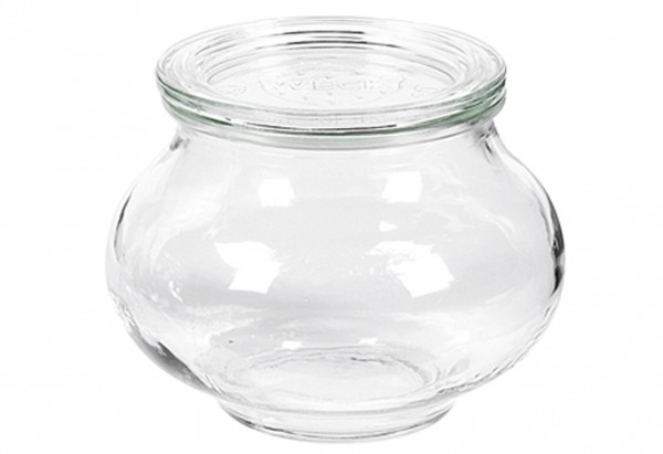 Rundrandglas Schmuckform 220 ml mit Deckel 60mm