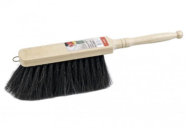 Handfeger Holz/Roßhaar-Mischung gewachst 28cm