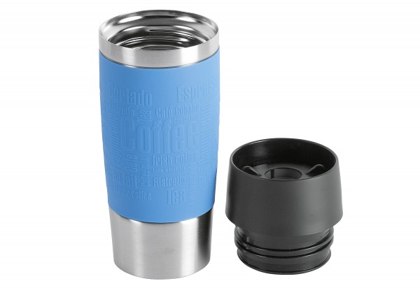Isolierbecher Travel Mug 0,36l wasserblau