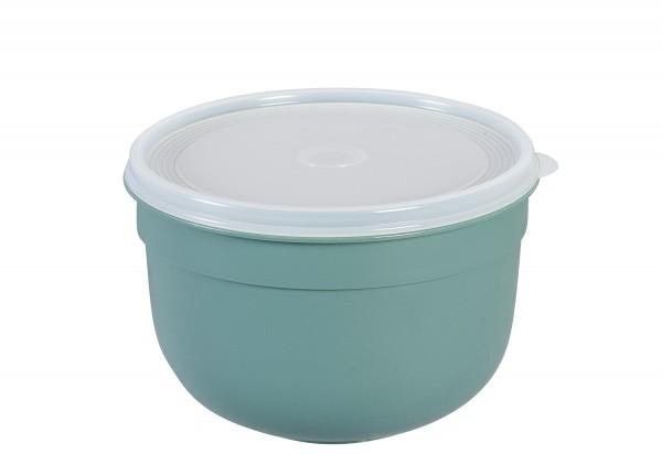 Frischhaltedose Superline Colours 2,25l rund pudergrün