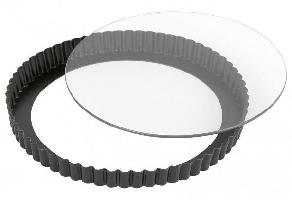 Quicheform Inspiration mit Glashebeboden Ø28cm