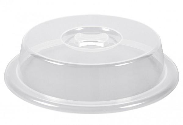 Mikrowellenabdeckhaube Micro Family Ø26cm transparent Kunststoff