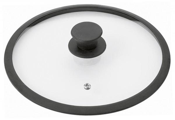 Glasdeckel Saphir Silikon-Rand Ø16cm