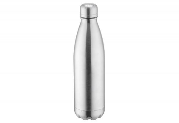 Isolierflasche 1l Edelstahl vakuumisoliert