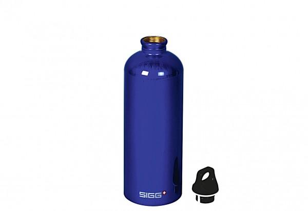 Trinkflasche Traveller 1 l blau