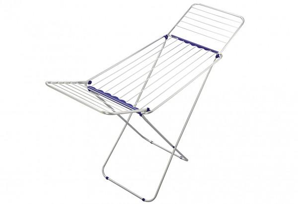 Standwäschetrockner Siena 180 114cm weiß / blau