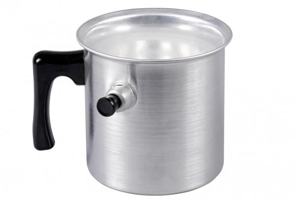 Wasserbadkocher Aluminium 1 l Ø13cm