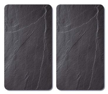 Schneid-/Abdeckplatte Schiefer 52x30x0,8cm 2 Stück