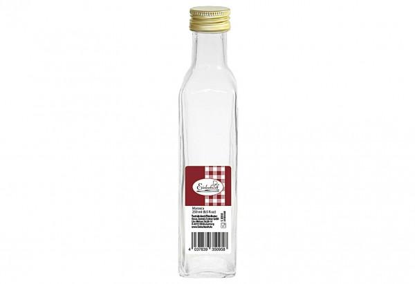 Flasche Marasca Einkochwelt 250 ml mit 31,5mm PP-Verschluss